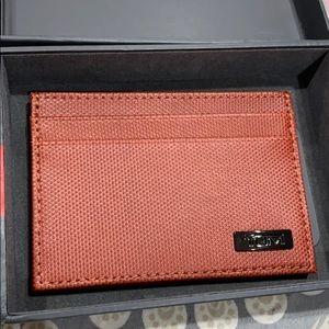 Brand new Tumi card case